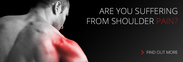 Are you suffering from shoulder pain?